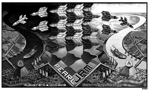 "New Release: ""Pearl Jam Seattle 2018"" by EMEK"