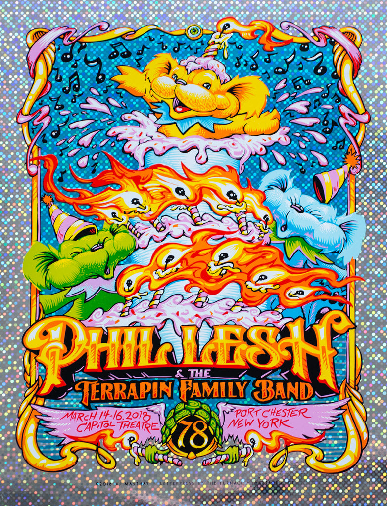 "New Release: ""Phil Lesh & Friends Portchester 2018"" by AJ Masthay"