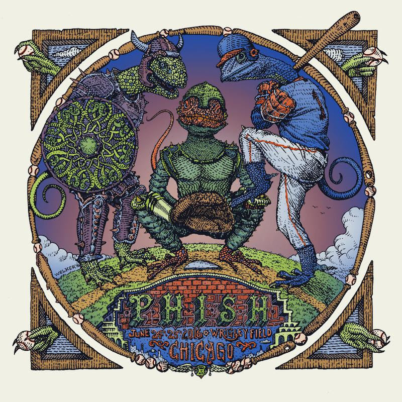 "New Release: ""Phish Chicago 2016"" by David Welker"