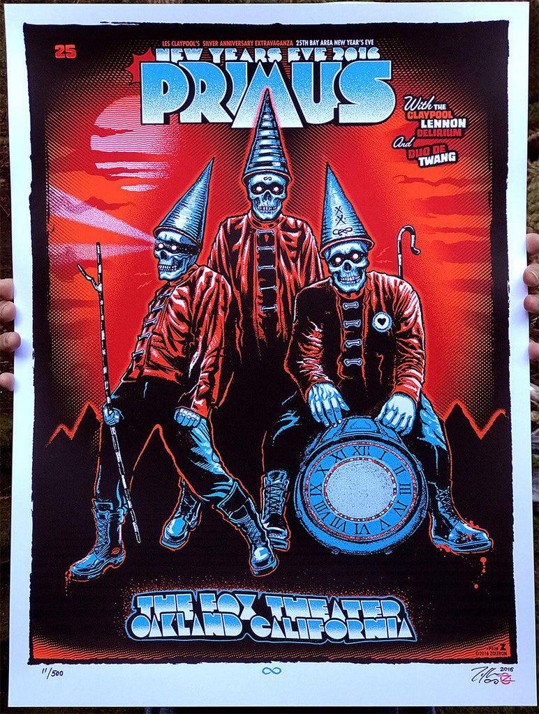 "New Release: ""Primus Oakland New Years 2016"" by Zoltron"