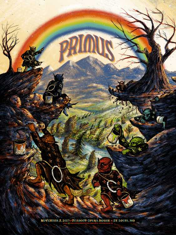 "New Release: ""Primus St. Louis 2017"" by Zeb Love"