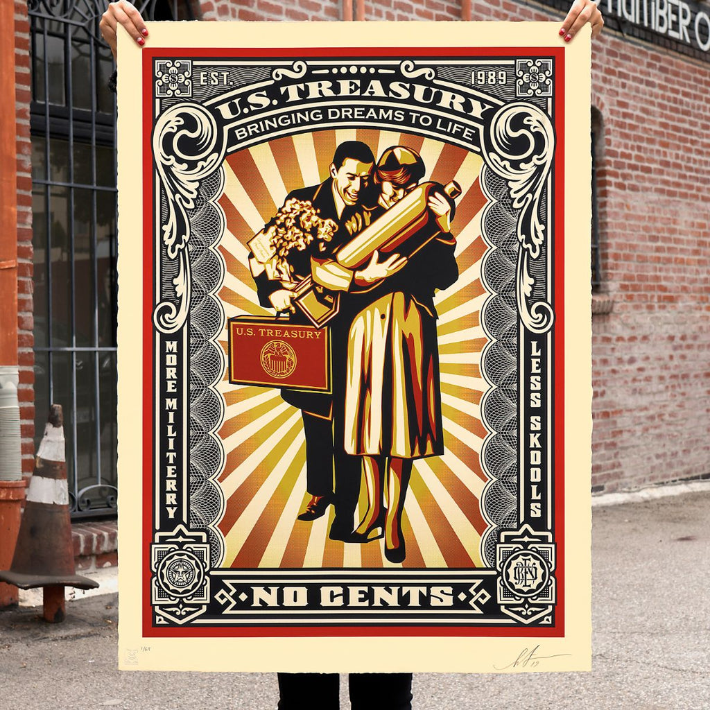 "New Release: ""Proud Parents"" by Shepard Fairey"