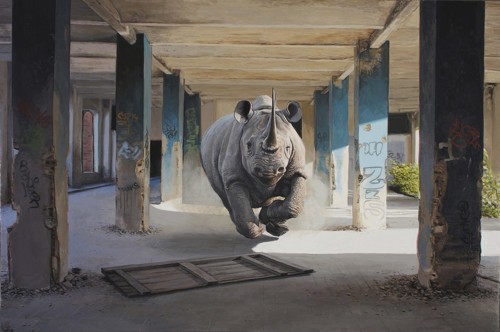 "New Release: ""Quake"" by Josh Keyes"