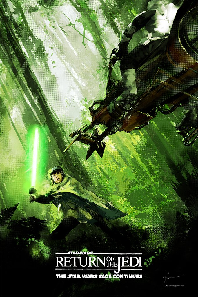 "New Release: ""Star Wars: Return of the Jedi"" by Jock"