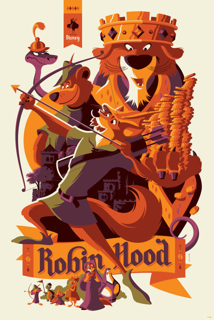 "New Release: ""Robin Hood"" by Tom Whalen"