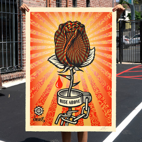 "New Release: ""Rose Shackle"" by Shepard Fairey"