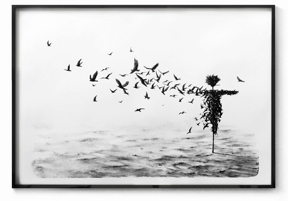 "New Release: ""Scattercrow"" by Pejac"