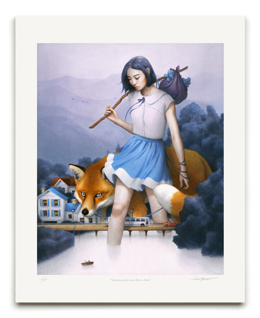 "New Release: ""Somewhere Between Now and Then"" by Tran Nguyen"