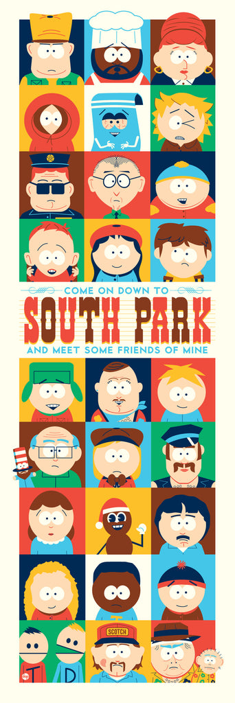 "New Release: ""Come On Down To South Park And Meet Some Friends Of Mine"" by Dave Perillo"