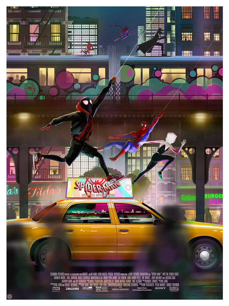 "New Release: ""Spider-Man: Into the Spider-Verse"" by Andy Fairhurst"
