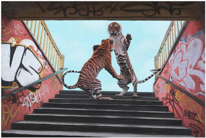 "New Release: ""Stairway to Heaven"" by Josh Keyes"