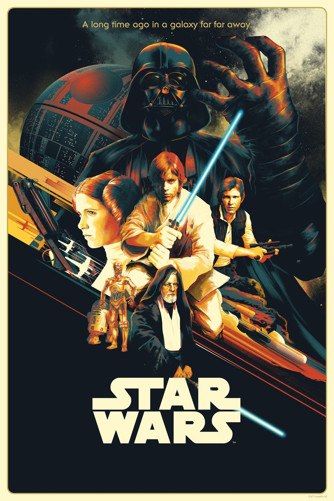 "New Release: ""Star Wars: A New Hope"" by Matt Taylor"