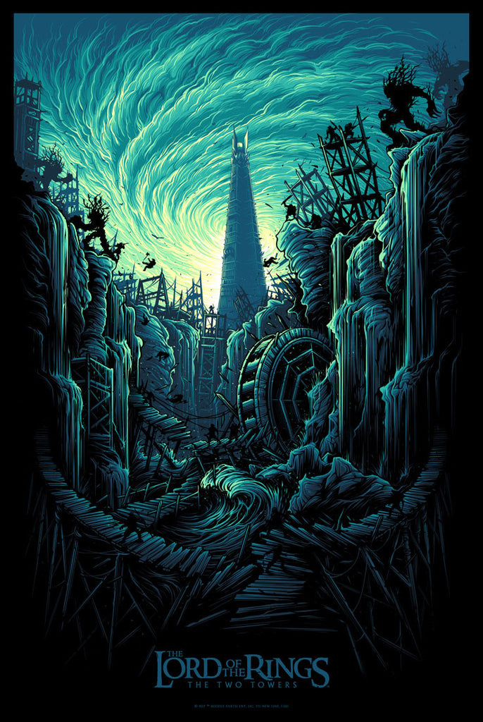 "New Release: ""The Lord of the Rings: The Two Towers"" by Dan Mumford"