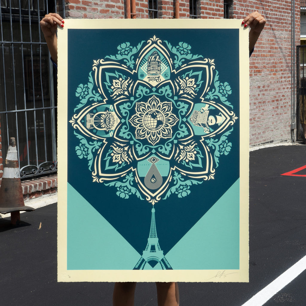 """A Delicate Balance"" by Shepard Fairey"