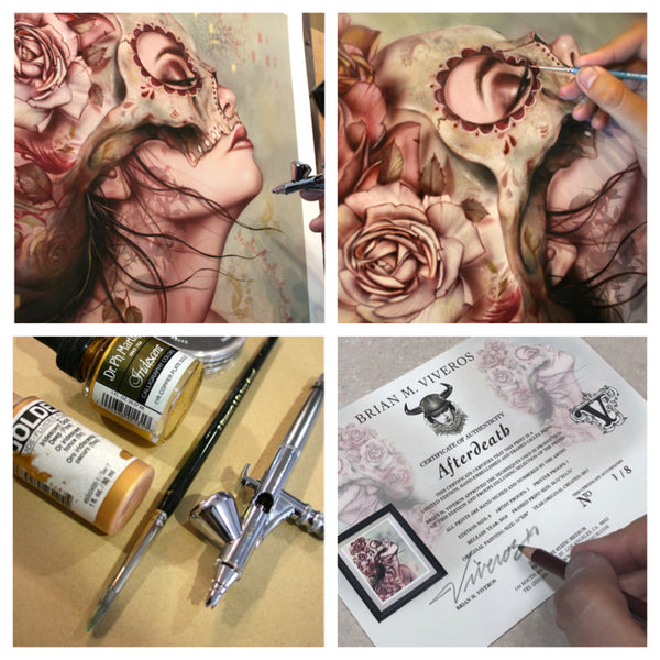 """Afterdeath"" (Special Edition Detail) by Brian Viveros"