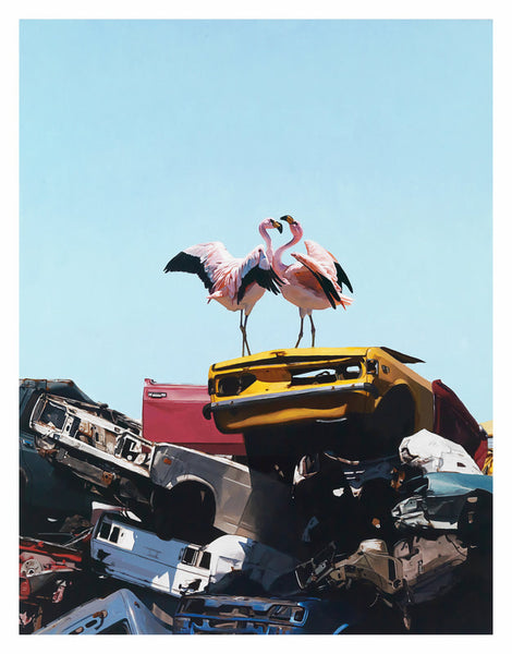 """Almost Paradise"" by Josh Keyes"