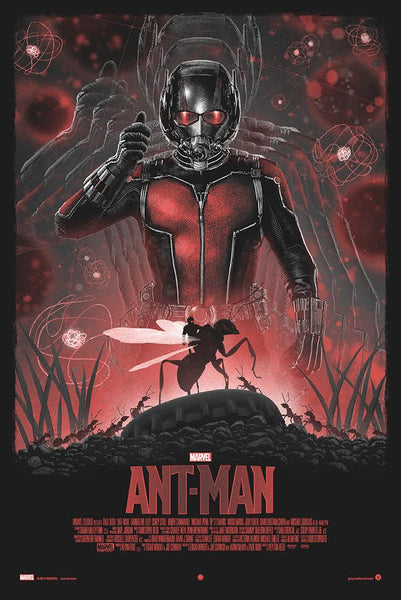 """Ant Man"" (Variant) by Marko Manev"
