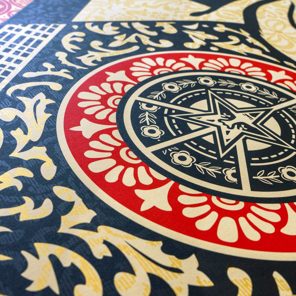 """Arab Woman"" (Detail 1) by Shepard Fairey"
