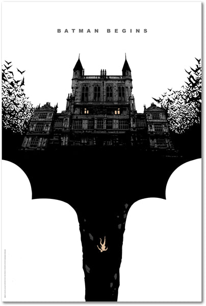 """Batman Begins"" (Variant) by Lee Garbett"