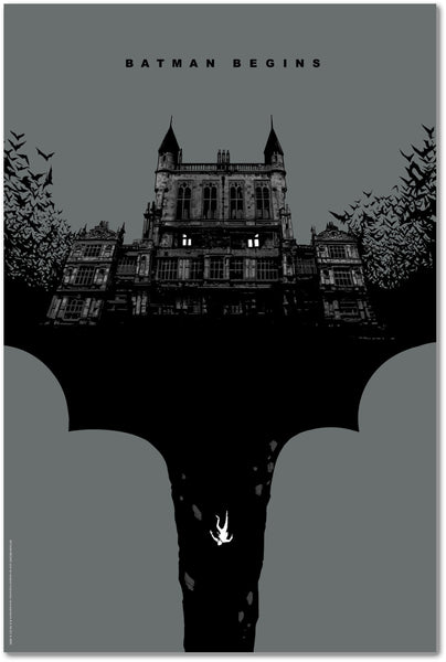 """Batman Begins"" by Lee Garbett"