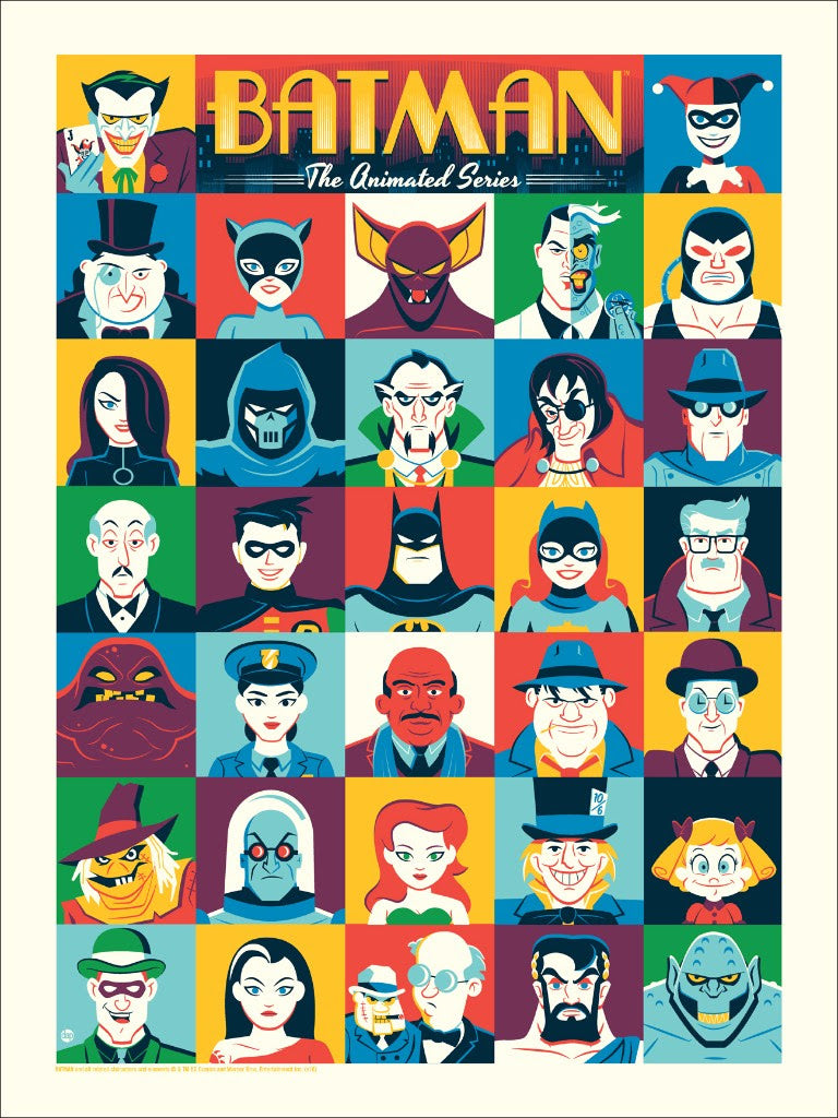 """Batman: The Animated Series"" by Dave Perillo"