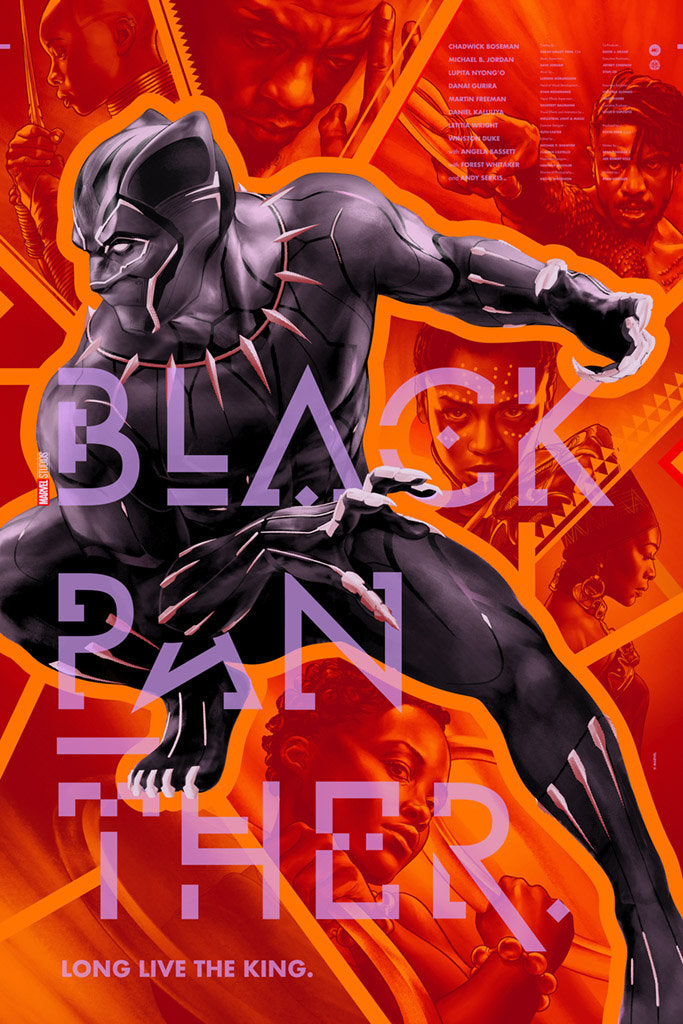 """Black Panther"" by Martin Ansin"