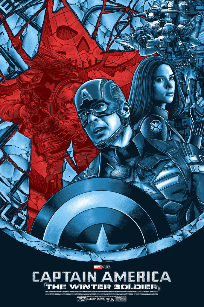 """Captain America: The Winter Soldier"" by Anthony Petrie"