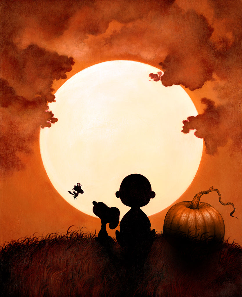 """Charlie Brown Halloween"" (Great Pumpkin Variant) by Dan May"
