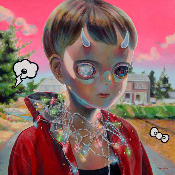 """Children on the Edge"" by Hikari Shimoda"