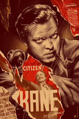 """Citizen Kane"" (Wood variant) by Martin Ansin"