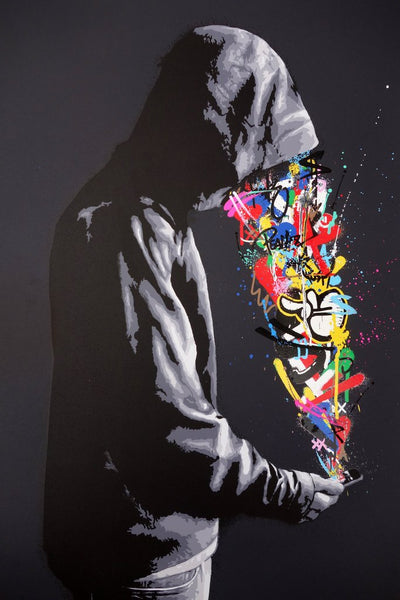 """Connection"" (Hand-Finished Edition) by Martin Whatson"