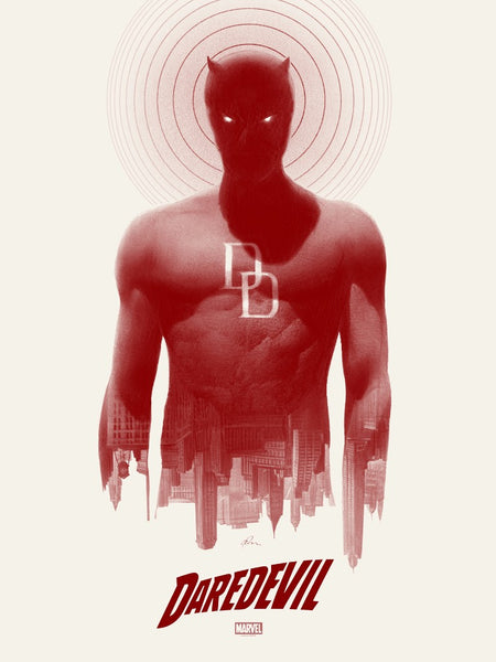"""Daredevil"" (Variant) by Greg Ruth"
