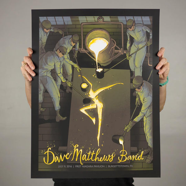 """Dave Matthews Band Burgettstown 2016"" by Rich Kelly"