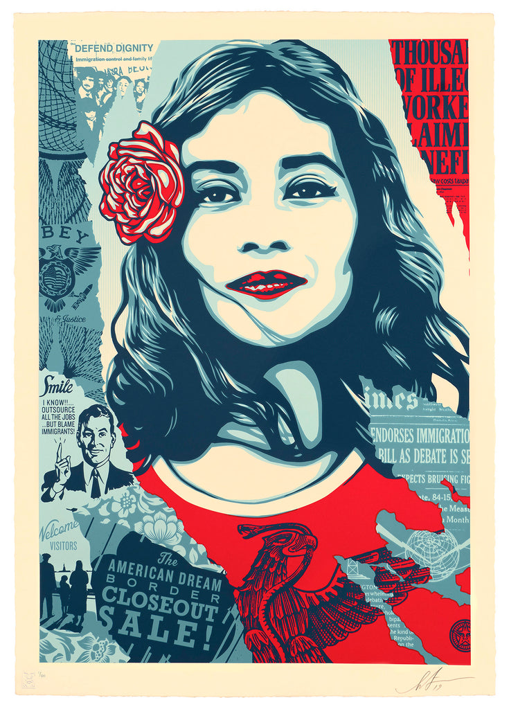 """Defend Dignity"" by Shepard Fairey"