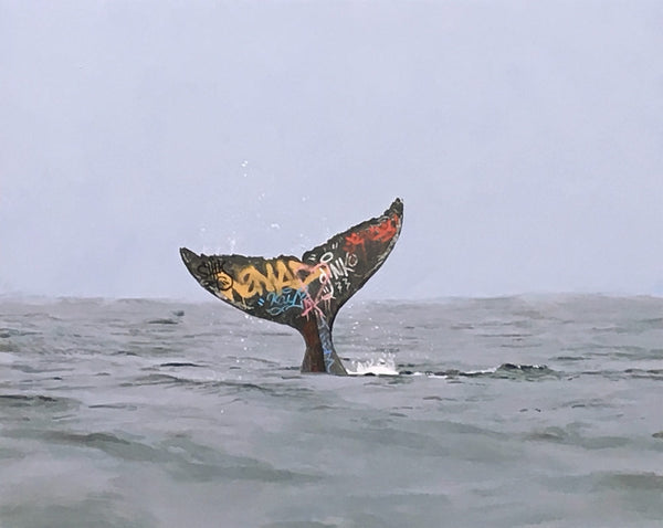 """Descent"" by Josh Keyes"