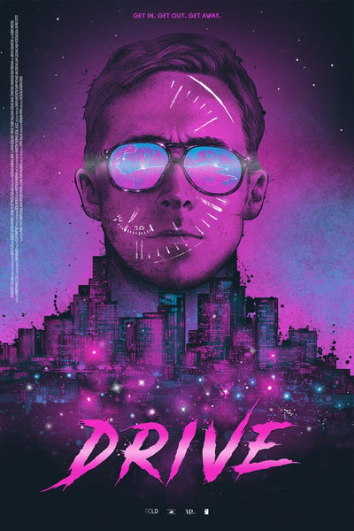 """Drive: A Real Hero"" (Variant) by Nikita Kaun"
