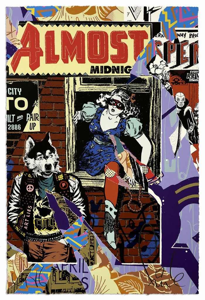 """Eastern Suspenso"" by Faile"