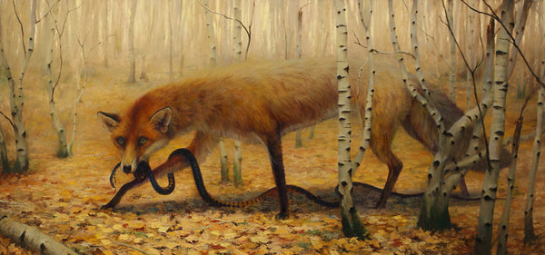 """Fall"" by Martin Wittfooth"