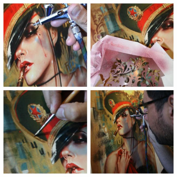 """Fearless"" by Brian Viveros - Detail 1"