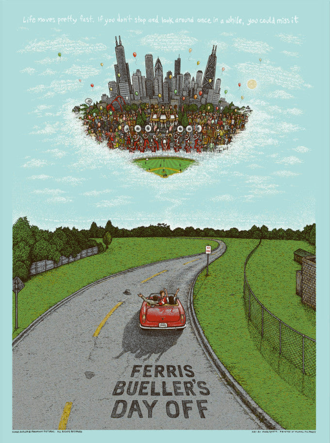 """Ferris Bueller's Day Off"" by Marq Spusta"