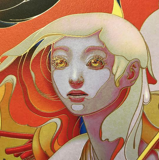 """Forager"" (Detail 3) by James Jean"