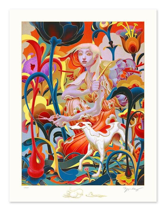 """Forager"" by James Jean"