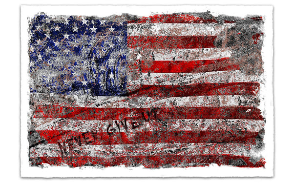 """Freedom"" by Mr. Brainwash"