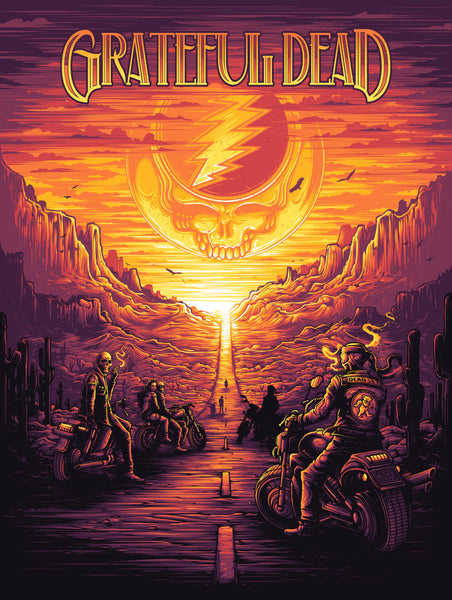 """Grateful Dead"" by Dan Mumford"