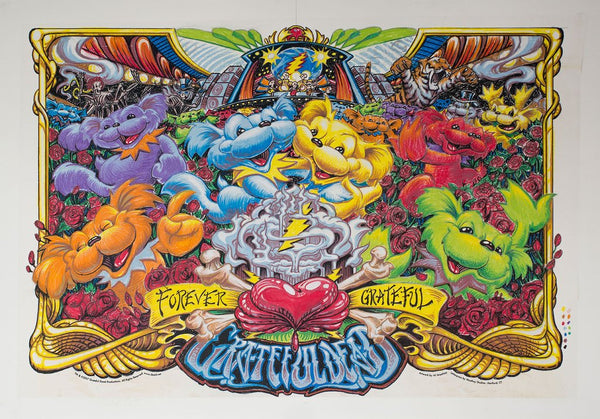 """Grateful Dead: Forever Grateful"" by AJ Masthay"
