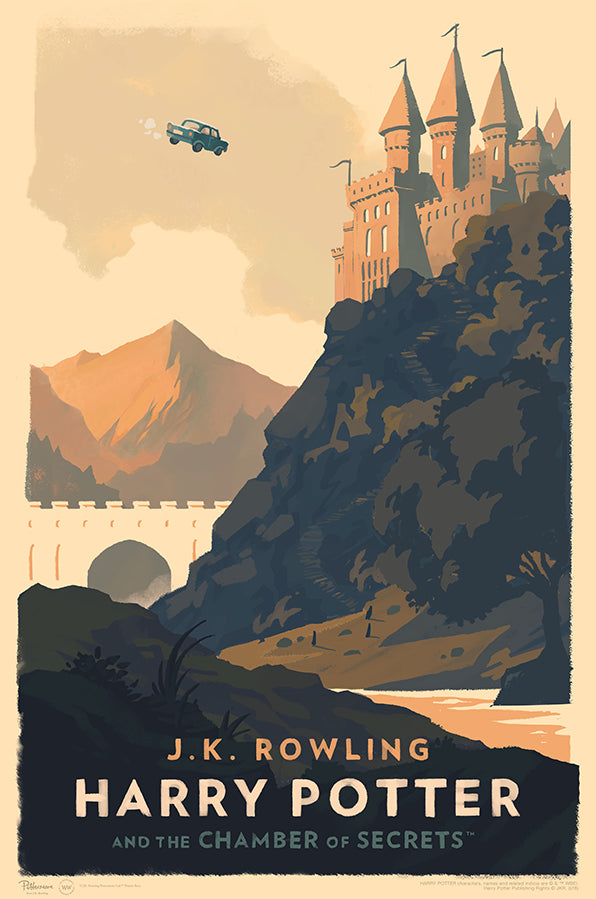 """Harry Potter and the Chamber of Secrets"" by Olly Moss"