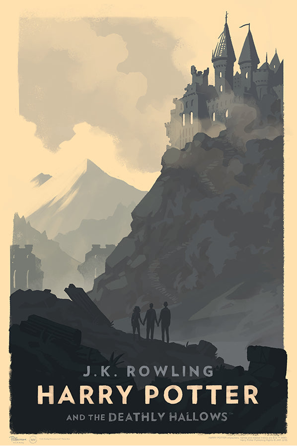 """Harry Potter and the Deathly Hollows"" by Olly Moss"