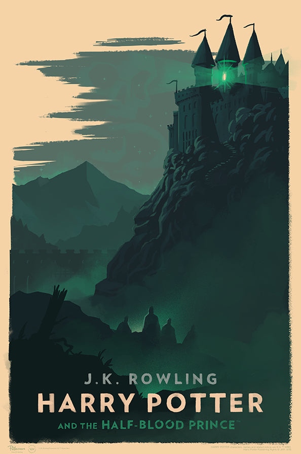 """Harry Potter and the Half-Blood Prince"" by Olly Moss"