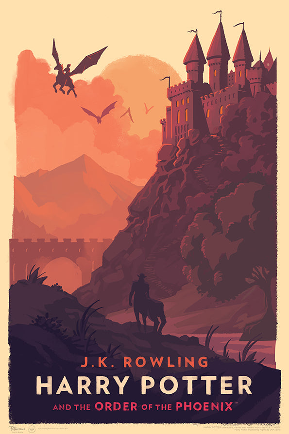 """Harry Potter and the Order of the Phoenix"" by Olly Moss"
