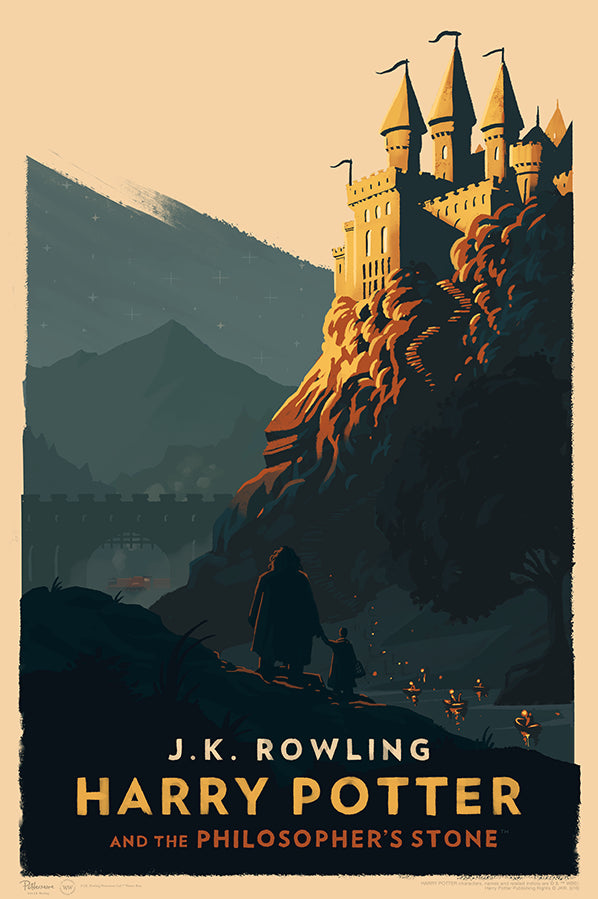 """Harry Potter and the Philosopher's Stone"" by Olly Moss"